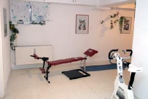 Fitnessraum d. Hauses