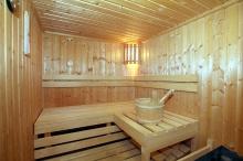 Sauna für Wellnessfreunde