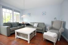 Große Sitzecke im Wohnzimmer