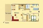Grundriss der Häuser